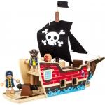 Legler Stavebnice Pirátská loď