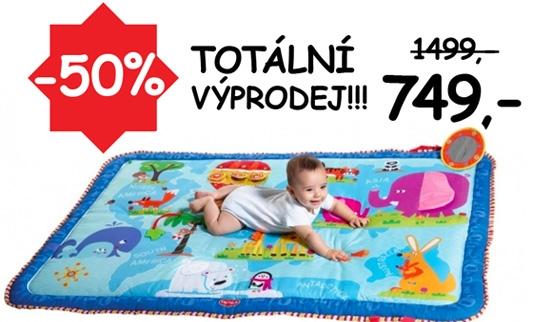 Sleva 50% na hrací deku