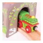 Bigjigs Dinosauří tunel T-rex