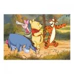 Dino Puzzle 24 dílků Medvídek Pú na výpravě