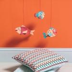 Djeco Dekorace k zavěšení Rybky