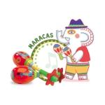 Djeco hudební palička Maracas