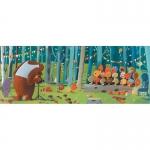 Djeco puzzle lesní přátelé 100 dílků