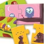 Djeco Duo puzzle Najdi mládě 24 dílků