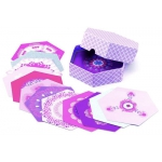 Djeco 3D Papírová dekorace - Purpurové květy