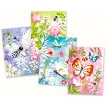 Djeco Malování barevným pískem set Třpytiví motýlci