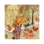 Djeco Puzzle - Paříž