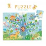 Djeco Puzzle  - Sovičky 24 dílků