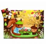 Djeco Puzzle  - Veverka 24 dílků