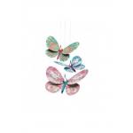 Djeco Závěsná třpytivá dekorace motýli