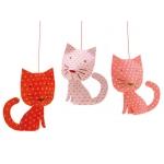 Djeco Závěsná dekorace kočky