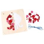 Hape Dřevěné hračky - Dřevěná mozaika chobotnice