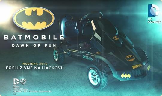 Batmobile je tady