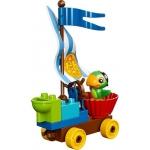 LEGO DUPLO Pirát Jake 10539 Závody na pláži