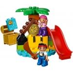 LEGO DUPLO 10604 Jake a piráti ze Země Nezemě Ostrov pokladů