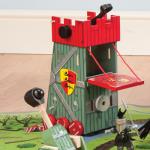 Le Toy Van červená dobývací věž