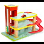 Le Toy Van Dinova červená garáž