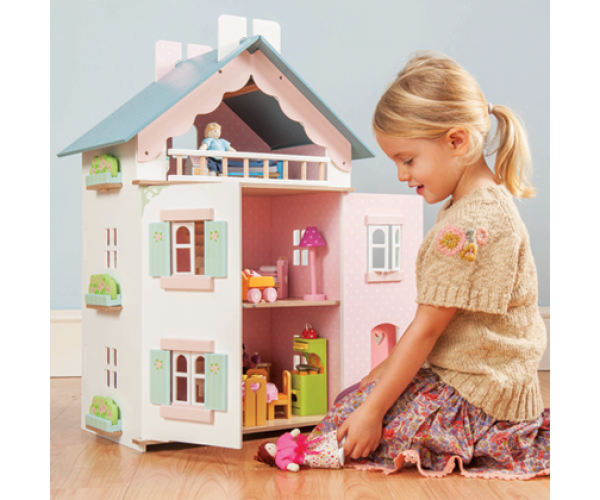 le toy van dome ek pro panenky la maison de juliette hra ky ij ek. Black Bedroom Furniture Sets. Home Design Ideas