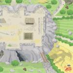 Le toy Van Herní podložka pod hrad - 150x100 cm