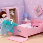Le Toy Van Ložnice do domečku růžová