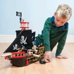 Le Toy Van Dřevěná Pirátská loď  Barbarossa