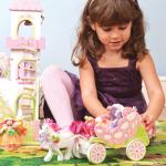 Le Toy Van Kočár pro vílu s jednorožcem