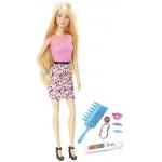 Mattel Barbie Duhové vlasy
