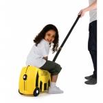 Trunki dětský kufřík odrážedlo včelka Bernard žlutý