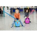 Trunki Dětský kufřík a odrážedlo Terrance modrá