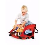 Trunki Dětský kufřík + odrážedlo - beruška