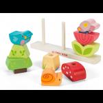 Le Toy Van Dřevěná navlékačka zahrádka