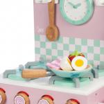 Le Toy Van Dřevěná kuchyňská trouba a varná deska - růžová