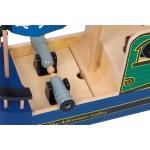 Legler Small Foot Dřevěná pirátská loď Lebka