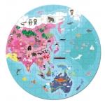 Janod Dětské puzzle Naše Modrá Planeta 208 dílů