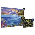 EDUCA Puzzle Podvodní svět -  svítící ve tmě 150 dílků