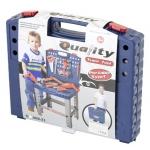 G21 Dětský kufřík s nářadím a pracovní stůl