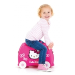 Trunki Dětský kufřík odrážedlo Hello Kitty 18 l