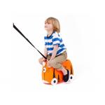 Trunki Dětský kufřík + odrážedlo tygr Tipu