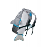 Trunki Nepromokavý batoh Žralok šedý