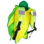 Trunki  Nepromokavý batoh Želva zelený