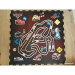 Disney Hrací podložka Cars - pěnové puzzle 31x31 9 ks