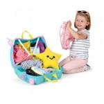 Trunki Dětský kufřík - odrážedlo Unicorn