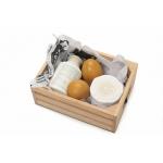 Le Toy Van Vejce a mléčné výrobky v bedničce