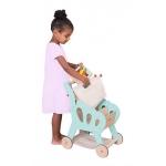 Le Toy Van velký dřevěný nákupní košík s taškou