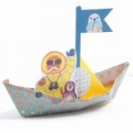 Djeco Origami skládačka Plovoucí lodě