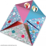 Djeco Origami skládačka Nebe peklo ráj