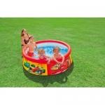 Intex Dětský nafukovací bazének Cars 183x51 cm 28103
