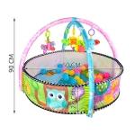 ISO 5639 Hrací deka zvířátka s míčky