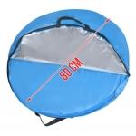 Malatec Pop Up Stan plážový 220x120x100cm modrý
