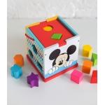 Derrson Disney Dřevěná kostka s tvary Mickey Mouse